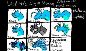 Wolfeh's Style Meme *FILLED* by monkfishlover
