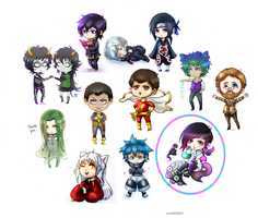 Chibi Galore (NEW: Official Chibi Commissions) by LALASOSU2
