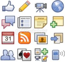Social Networking Icons by jSnyderDesign