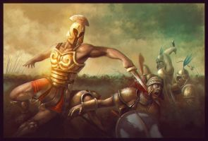 Achilles by Matiush83