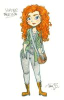 Hipster Merida by tombancroft