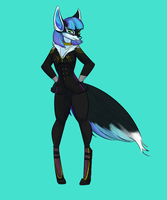 $6 Commission 2/3: DarkAngel1024 by drawitout