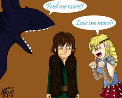 HTTYD: The sequel by keyblade-master-sara