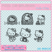 Brushes de Hello Kitty by:Lucesita~ by LucesitaEditions