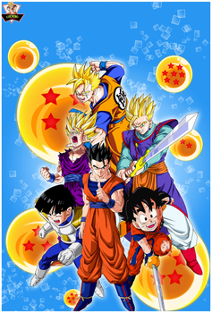 Super Gohan Fases Poster by lucario-strike