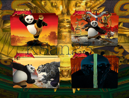 Kung Fu Panda Packaged Icons by KSan23