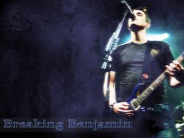 Breaking Benjamin Wallpaper by DiAMiNNz