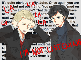 gettin tired of your shit sherlock by cremena