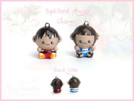 Spirited Away Charms by FlyingPandaGirl