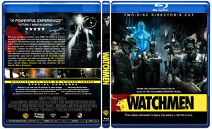 Watchmen Blu-Ray by Staxit