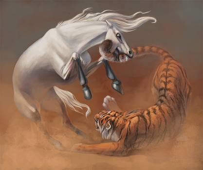 The Fight by Shainis