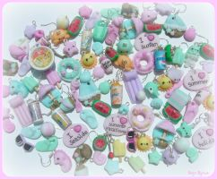 Kawaii summer charms mix by Bojo-Bijoux