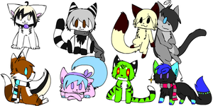 Friend group icons big by K40rin