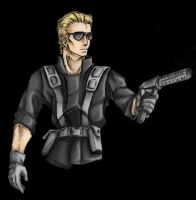 Wesker by valkyrie88