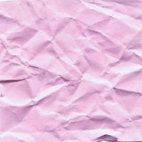 Pink wrinkled paper texture by AnnFrost-stock