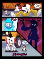 The Mystery Skulls Misadventures: 'Wounds' pg3 by Anastas-C