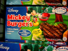 New Item: Mickey Burgers by HeroMewtwo