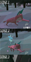The Stages Of A Fox by scratch212