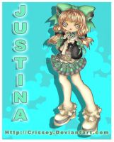 +Chibi Justina+ by Crissey by ChibiArt-Club