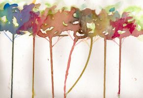 Abstract Trees by draw1ng-a-blank