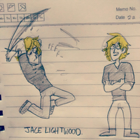 Jace Lightwood by northpines
