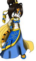 Tigeress Character by queenmafdet