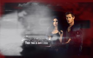 So Darkness I Became - Elena+Klaus by BloodyDeath11