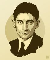 Franz Kafka by monsteroftheid