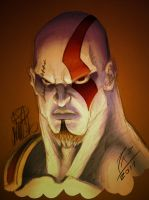 Colors - Kratos mugshot by FontesMakua