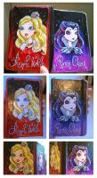 Ever after high -diary- (self made) by Djinay