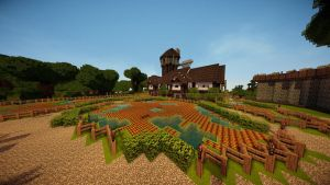 Minecraft: Farm House (TheRoleplayWorld) by GamerPeons