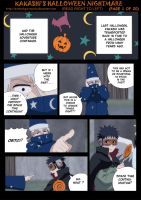 Kakashi's Halloween Nightmare Page 1 by BotanofSpiritWorld