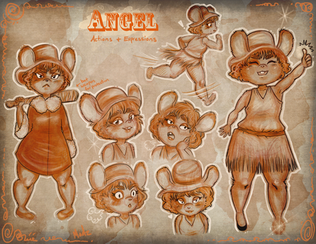 Angel The Mouse by MadzSan