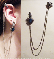 custom Bajoran earring by undead-medic