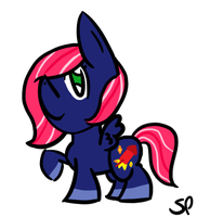 Pyro Spark - Point Commission by Slumberpony