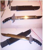 S.S knife I Made by BROKENHILL