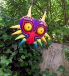 1st Painted New Majora's Mask by HylianJean