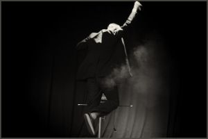 magician on stage. by Matt-Insane
