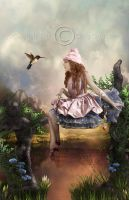 a beauty world by CindysArt