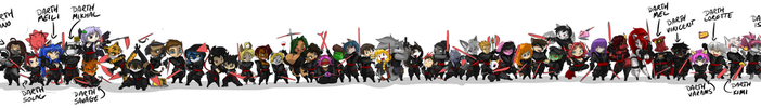 Sith Line Up 44 by ShoNuff44