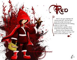 Red_concept character by Aerindarkwater
