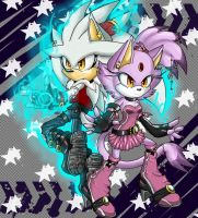 Silver and Blaze by OriginalArtist