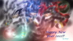 HAPPY new year 2011 by Mimy92Sonadow