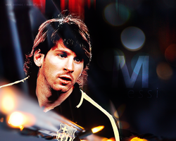 Messi by w6n3oshaq