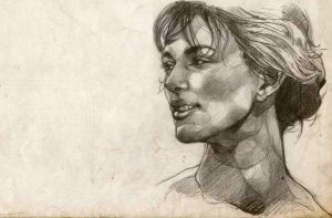 Keira Knightley by isaac-laforete