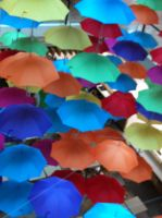 Sea of Umbrellas by witefire