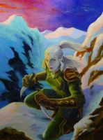 elf assassin by scuttered