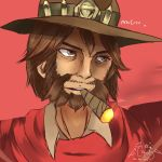 [1h] Jesse McCree by CaptainAyon