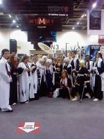 the bleach cosplay group by lotrwofr