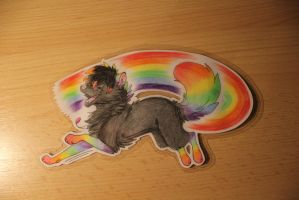 Commission - Dat-Rainbow by Rhass